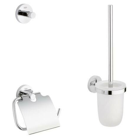 Set accesorii baie Grohe Essentials City 3 in 1,